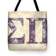 Sigma Pi - Parchment Tote Bag