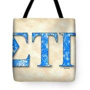 Sigma Tau Gamma - Parchment Tote Bag