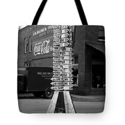 Sign Post In Crossville Tennessee 1939 Tote Bag