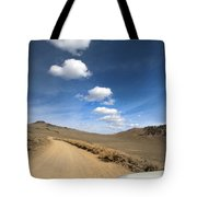 Signals ... Along The Bristlecone Pine Highway, White Mountains, California.  Tote Bag