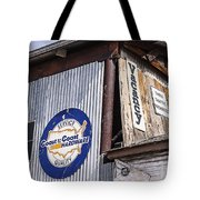 Signs In Old Cottonwood Tote Bag