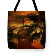 Signs In The Heavens Tote Bag by Beverly Guilliams