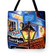Signs Of Bourbon Street Tote Bag
