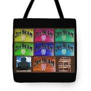 Signs Of Jim Beam Tote Bag