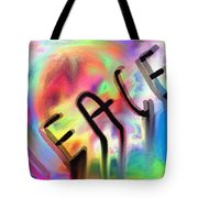 Signs Of Peace  Tote Bag
