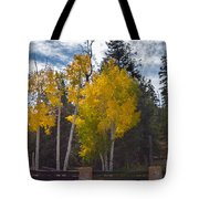 Signs Of Winter Tote Bag