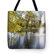 Sigulda Pond Tote Bag