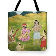 Sikh Painting Tote Bag