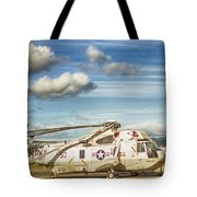Sikorsky Sh-60b Seahawk Helicopter Tote Bag