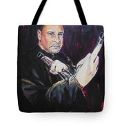 Pencak Silat - Pelatih Johnny Dutrieux Tote Bag