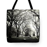 Silence Of Steps  Tote Bag