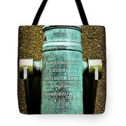 Silenced -- Surrendered British Cannon Tote Bag