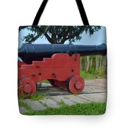 Silent Cannon Tote Bag