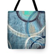 Silent Drizzle Tote Bag