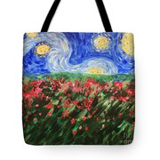 Silent Field Tote Bag