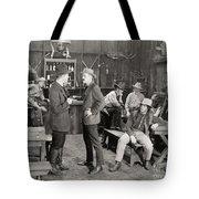 Silent Film Still: Cowboys Tote Bag