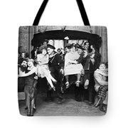 Silent Film Still: Parties Tote Bag