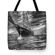 Silent Lady Tote Bag
