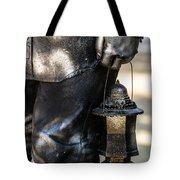Silent Man II Tote Bag