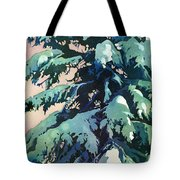 Silent Season Tote Bag by Kris Parins