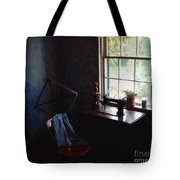 Silent Sewing Room Tote Bag