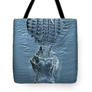 Submerged Alligator Approach Tote Bag