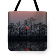 Silent Sun Tote Bag