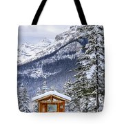 Silent Winter Tote Bag