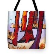 Silent Woods Tote Bag