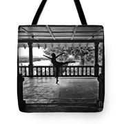 Silhouette Tote Bag by Audrey Wilkie