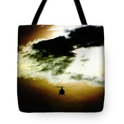 Silhouette Cloud Tote Bag