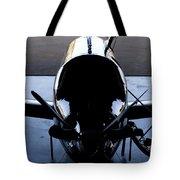 Silhouette Hanger Tote Bag