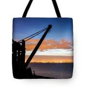 Silhouette Of Davit Tote Bag
