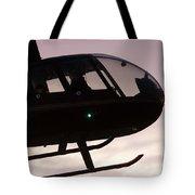Silhouette Raven II Tote Bag
