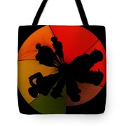 Silhouettes Around The Balloon Tote Bag