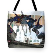 Silhouettes Journey  Tote Bag