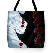 Silhouettes Of Zen Tote Bag