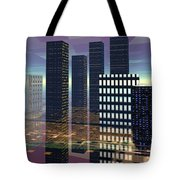 Silicon City Tote Bag