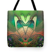 Silk Fan - Abstract  Tote Bag