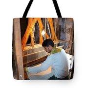 Silk Weaver - Varanasi India Tote Bag