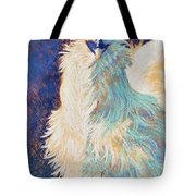 Silkie Rooster Tote Bag by Tracy L Teeter