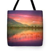Silky Skies Tote Bag