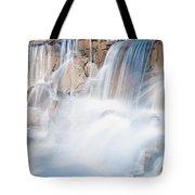 Silky Waterfall Splash Tote Bag