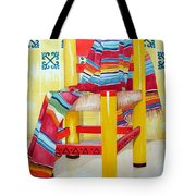 Silla De La Cocina--kitchen Chair Tote Bag