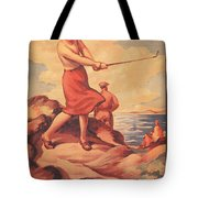 Silloth On The Solway, Advertisement Tote Bag