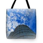 Silo Meets The Sky Tote Bag