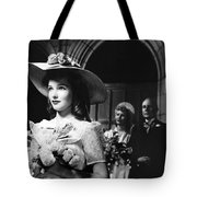 Silver Advertisement Tote Bag