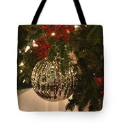 Silver Ball Tote Bag