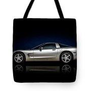 Silver C5 Tote Bag