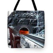 Silver Creek Tunnel Tote Bag